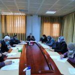 الإجتماع الدوري الثالث وتكريم أعضاء من الدراسة والإمتحانات